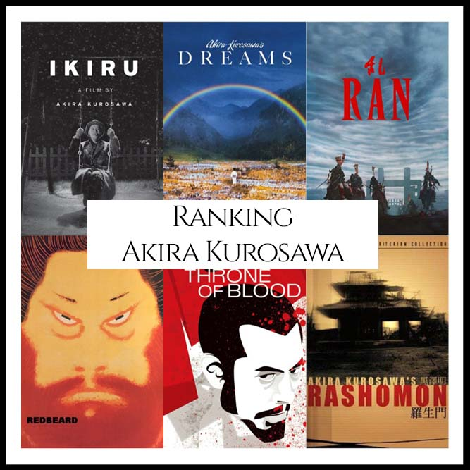 Akira Kurosawa Filmography Movie Ranking
