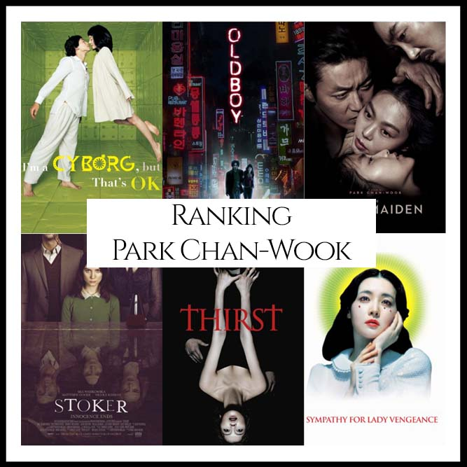 Park Chan-Wook Filmography Movie Ranking