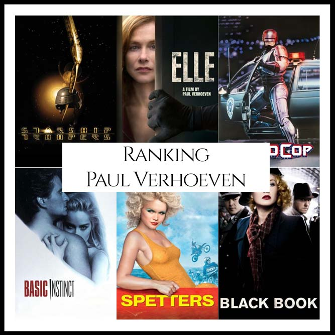 Paul Verhoeven Filmography Movie Ranking