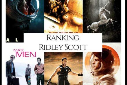 Ridley Scott Filmography Movie Ranking
