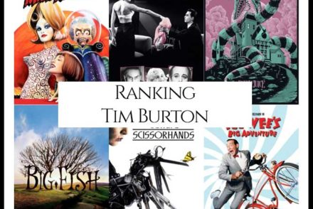 Tim Burton Filmography Movie Ranking