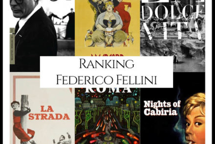 Federico Fellini Filmography Movie Ranking