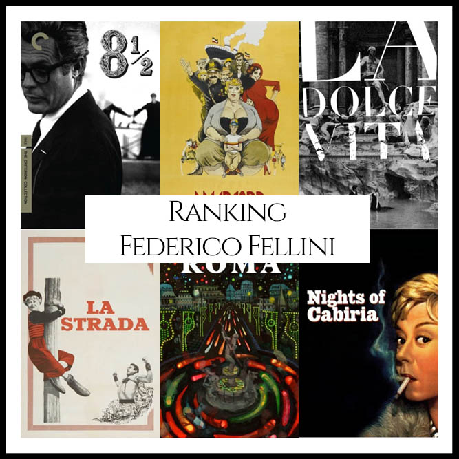 Ranking All Of Director Federico Fellini's Movies