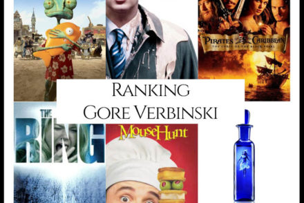 Gore Verbinski Filmography Movie Ranking copy