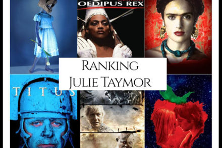 Julie Taymor Filmography Movie Ranking