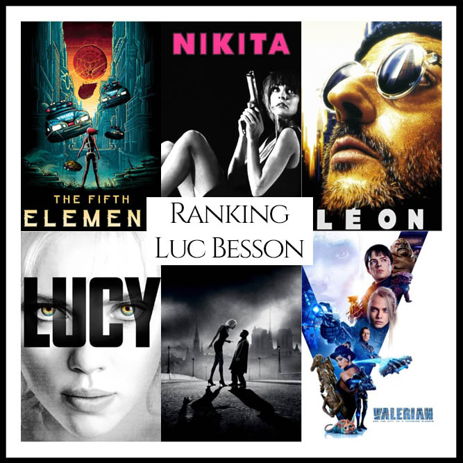 Luc Besson Filmography Movie Ranking