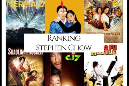 Stephen Chow Filmography Movie Ranking