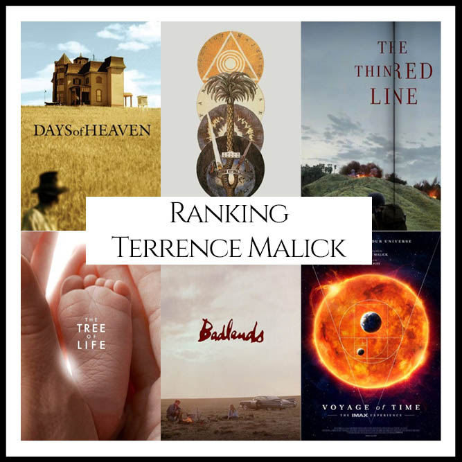 Terrence Malick Filmography Movie Ranking