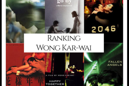 Wong Kar-Wai Filmography Movie Ranking