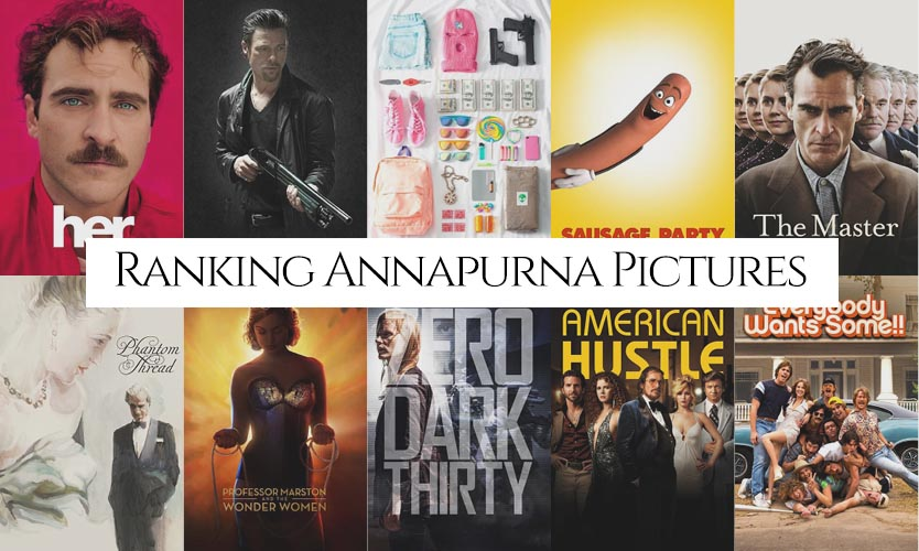Ranking The Best Movies By Annapurna Pictures