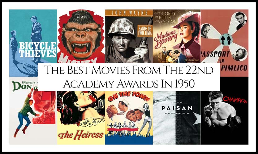 Ranking All The Movies Nominated At The 22nd Academy Awards In 1950