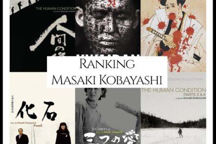 Masaki Kobayashi Filmography Ranking Movies