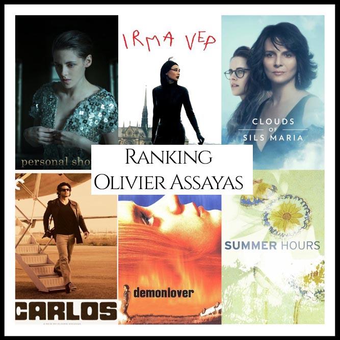 Olivier Assayas Filmography Ranking Movies