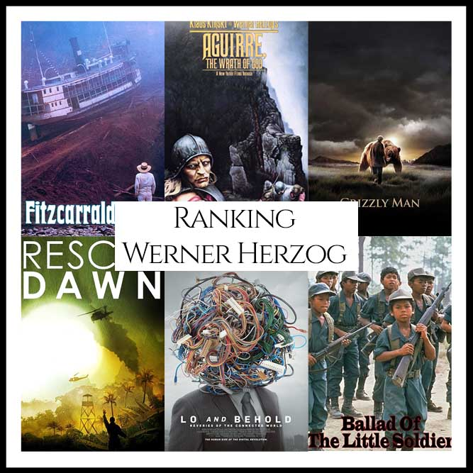 Werner Herzog Filmography Ranking Movies