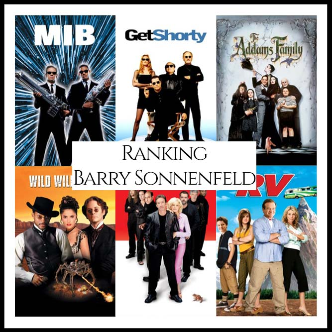 Barry Sonnenfeld Filmography Movie Ranking Movies