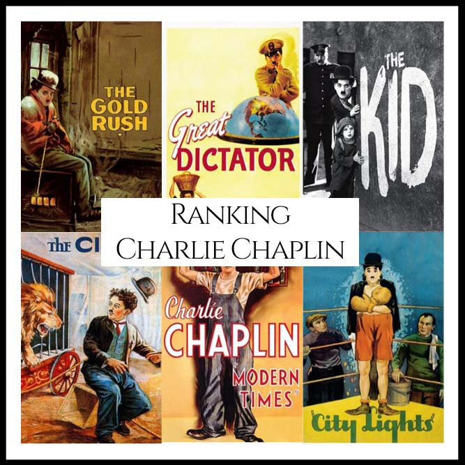Charlie Chaplin Filmography Movie Ranking Movies
