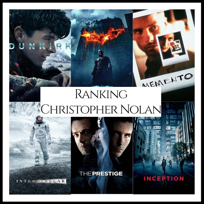 Christopher Nolan Filmography Movie Ranking Movies