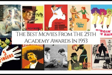 25th Academy Awards 1953 Best Movies