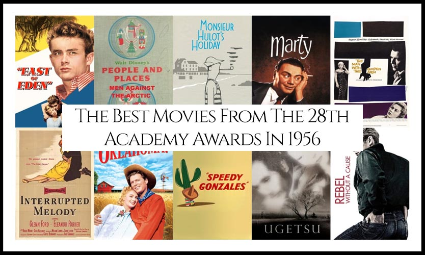 Ranking All The Movies Nominated At The 28th Academy Awards In 1956