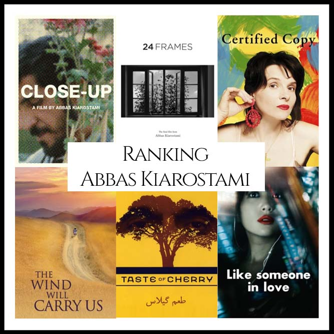 Abbas Kiarostami Filmography Movie Ranking Movies
