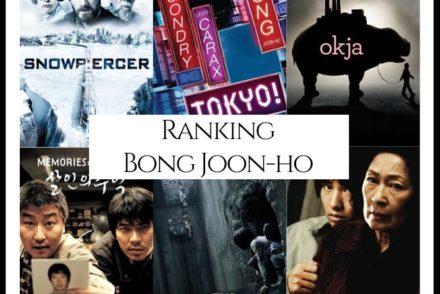 Bong Joon-ho Filmography Movie Ranking Movies