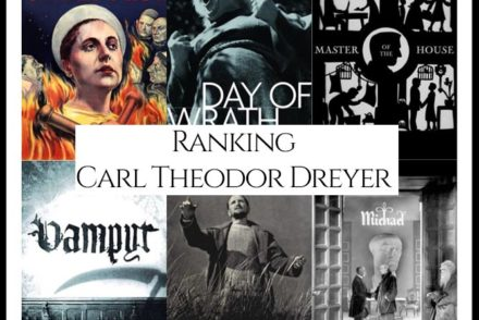 Carl Theodor Dreyer Filmography Movie Ranking Movies