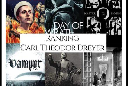 Carl Theodor Dreyer Filmography Movie Ranking Movies