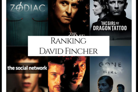 David Fincher Filmography Movie Ranking Movies