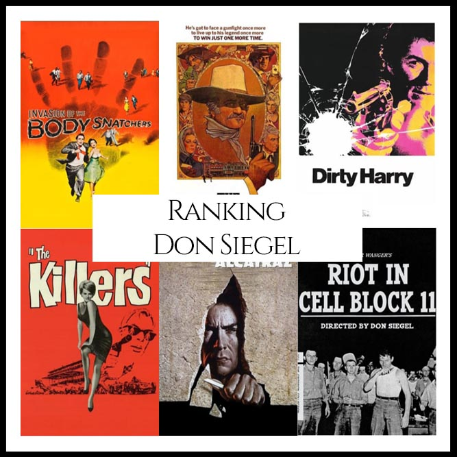 Don Siegel Filmography Movie Ranking Movies