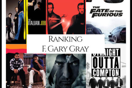 F. Gary Gray Filmography Movie Ranking Movies