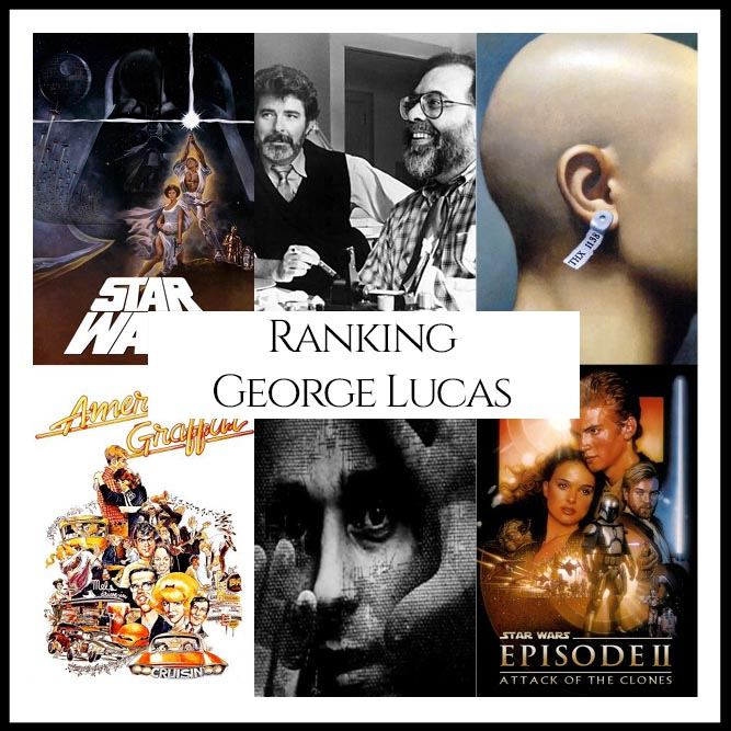Ranking All Of Director George Lucas's Movies