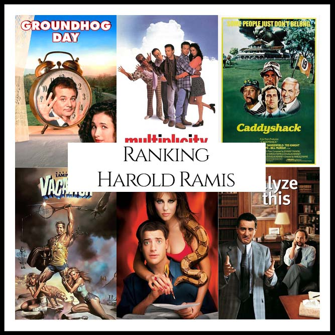 Harold Ramis Filmography Movie Ranking Movies