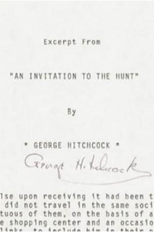Une Invitation à la Chasse (1974)