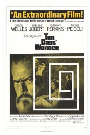 Ten Days Wonder (1971)