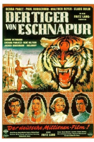 The Tiger of Eschnapur (1959)