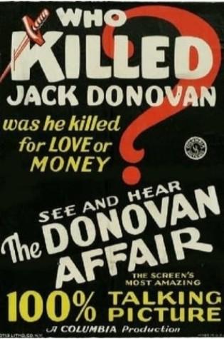 The Donovan Affair (1929)