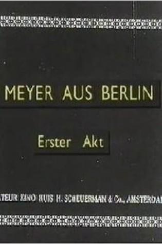 Meyer from Berlin (1919)
