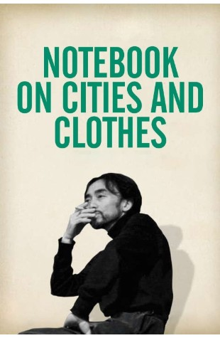 Notebook on Cities & Clothes (1989)