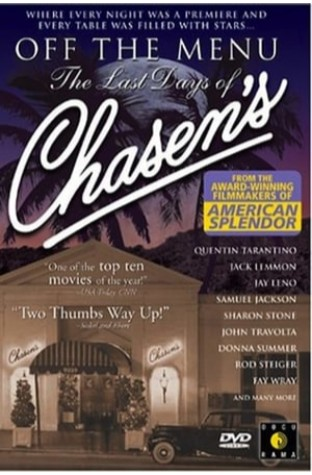 Off the Menu: The Last Days of Chasen's (1998)