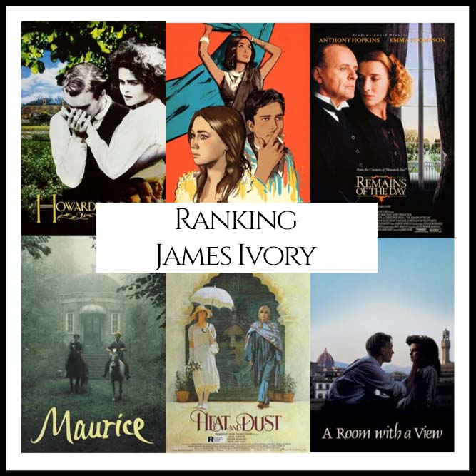 Ranking All Of Director James Ivory's Movies