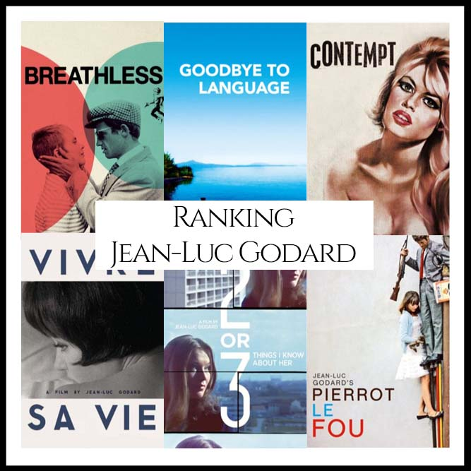 Ranking All Of Director Jean-Luc Godard's Movies