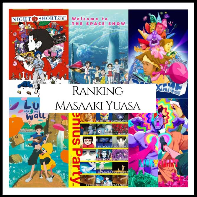 Ranking All Of Director Masaaki Yuasa's Movies