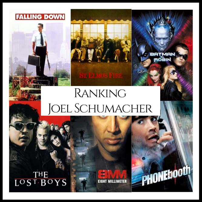 Ranking All Of Director Joel Schumacher's Movies