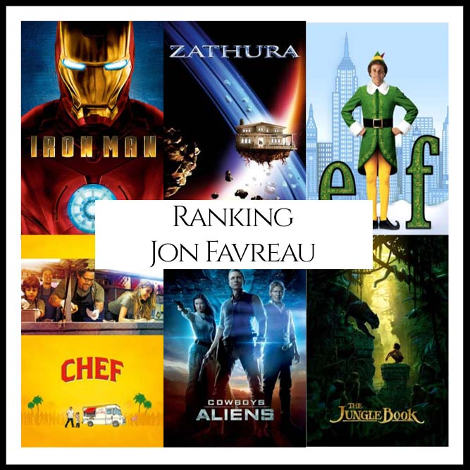 Ranking All Of Director Jon Favreau's Movies
