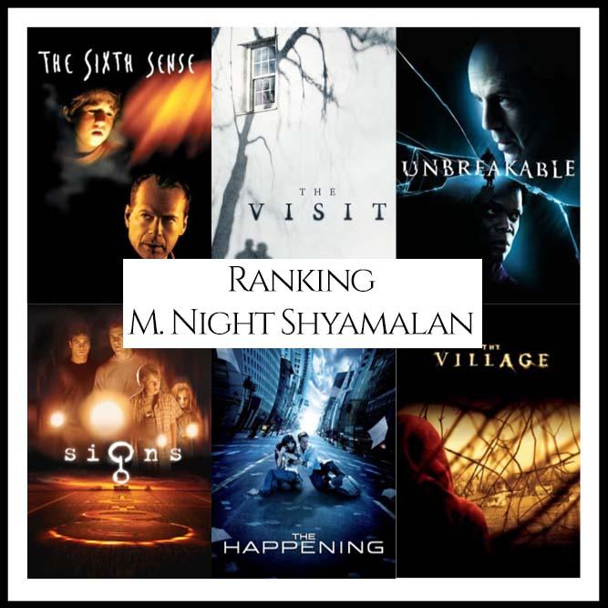 Ranking All Of Director M. Night Shyamalan's Movies