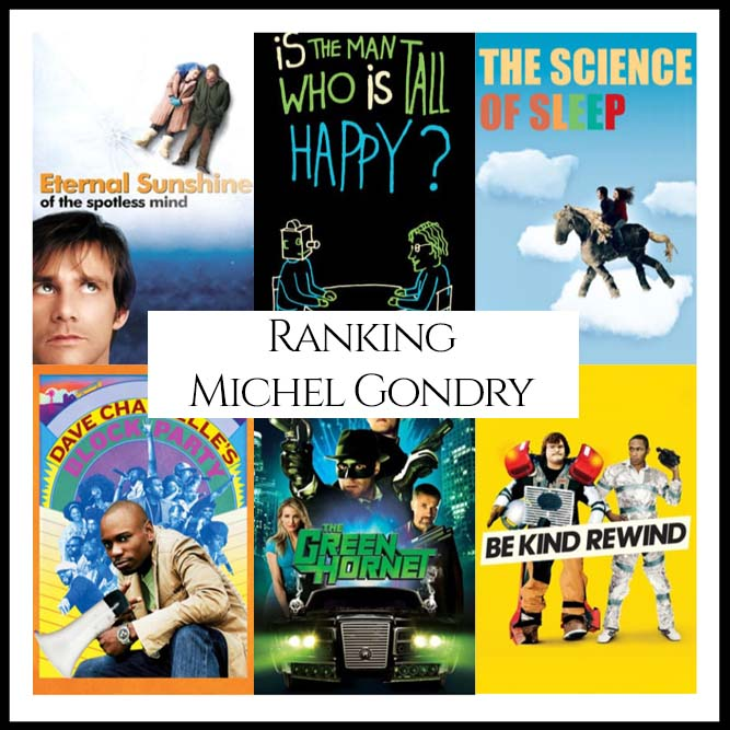 Ranking All Of Director Michel Gondry's Movies