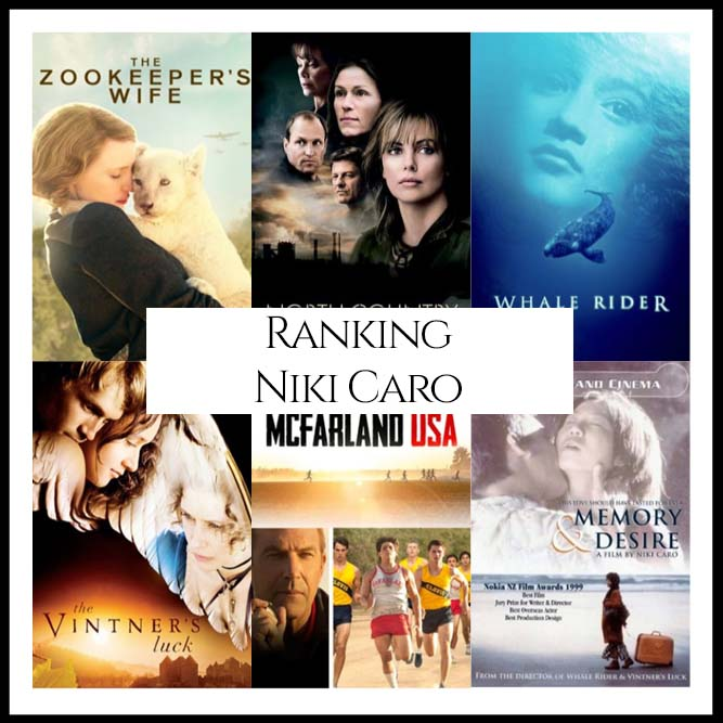 Ranking All Of Director Niki Caro's Movies