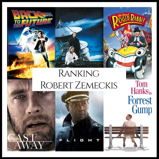Ranking All Of Director Robert Zemeckis's Movies