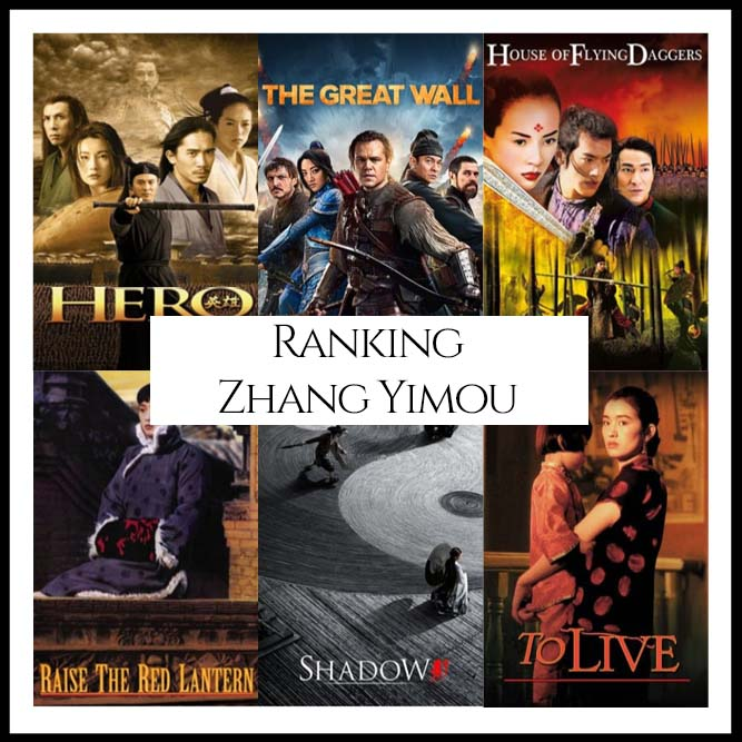 Ranking All Of Director Zhang Yimou's Movies