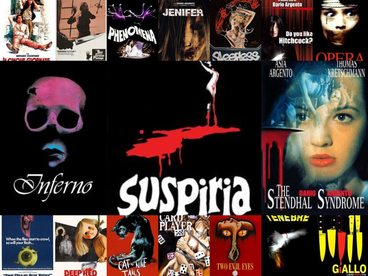 Ranking All Of Director Dario Argento's Movies
